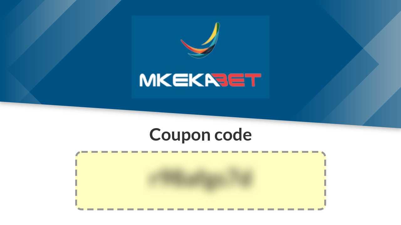 Coupon Code Mkekabet