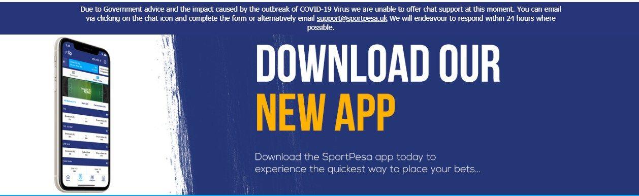 Download Sportpesa App