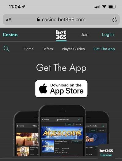 Bet365 App iPhone