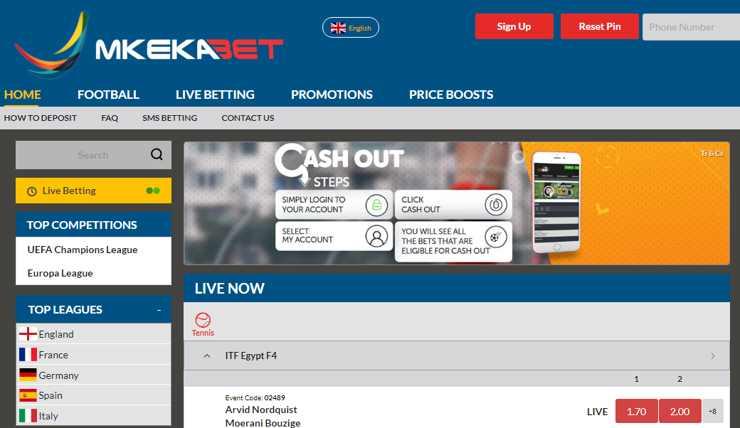 Mkekabet Sportsbook Bonus