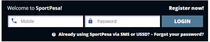 Sportpesa Mobile Registration